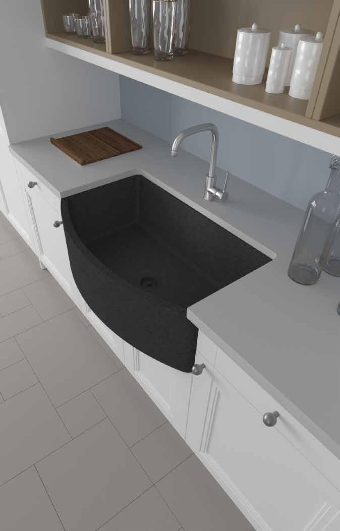COMPOSITE GRANITE SINKS /